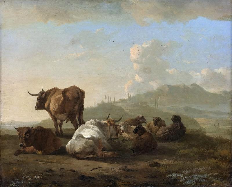 Romeyn, Willem -- Rustende kudde, 1650-1694. Rijksmuseum: part 1