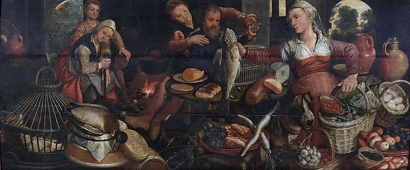 Питер Артсен -- Продукты для кухни, 1560-1565. Рейксмузеум: часть 1