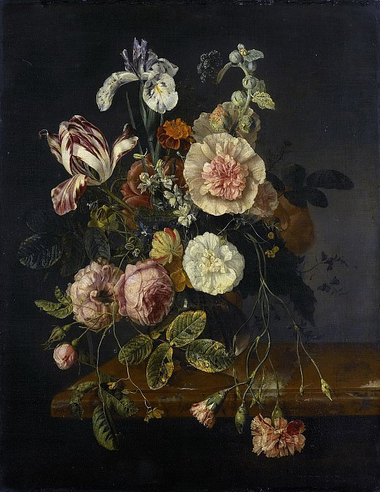 Walscapelle, Jacob van -- Stilleven met bloemen, 1670-1727. Rijksmuseum: part 1