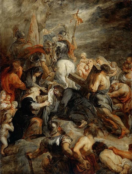 Rubens, Peter Paul -- Kruisdraging, 1634-1637. Rijksmuseum: part 1