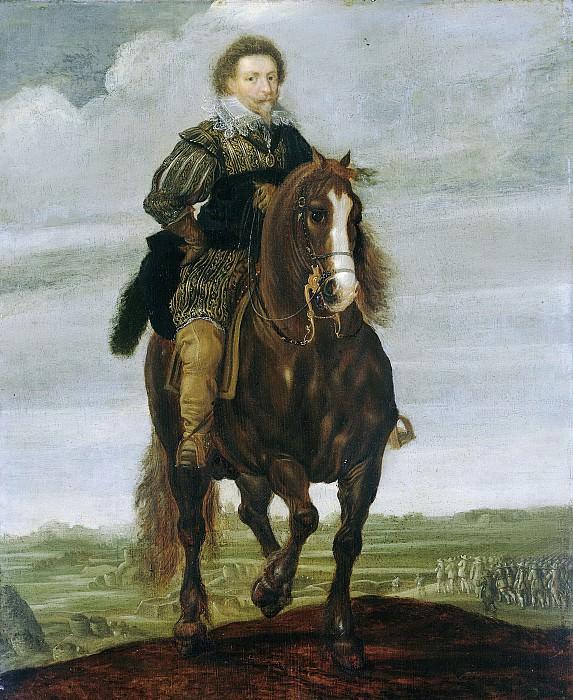 Hillegaert, Pauwels van -- Prins Frederik Hendrik te paard, 1629-1635. Rijksmuseum: part 1