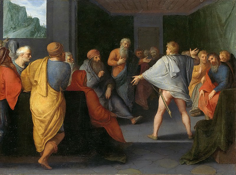 Veen, Otto van -- De bijeenkomst van de Galliërs te Reims, 1600-1613. Rijksmuseum: part 1