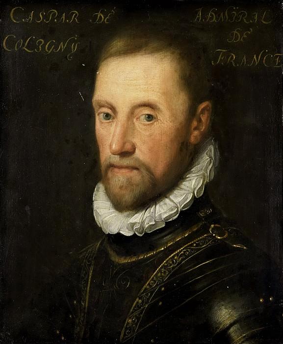 Ravesteyn, Jan Antonisz. van -- Portret van Gaspard de Coligny (1517-72), 1609 - 1633. Rijksmuseum: part 1