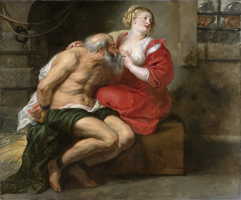 Rubens, Peter Paul -- Cimon en Pero, 1630-1640. Rijksmuseum: part 1