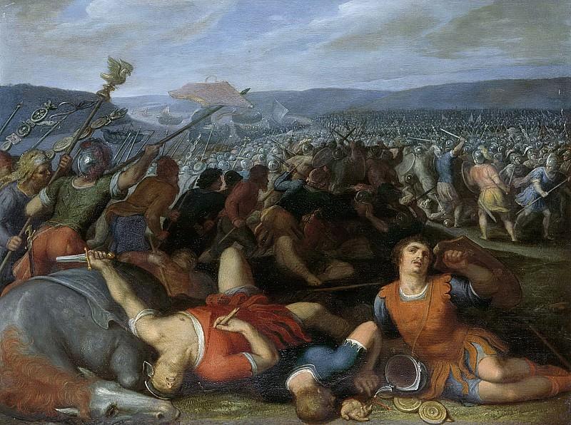 Veen, Otto van -- De Bataven verslaan de Romeinen bij de Rijn, 1600-1613. Rijksmuseum: part 1