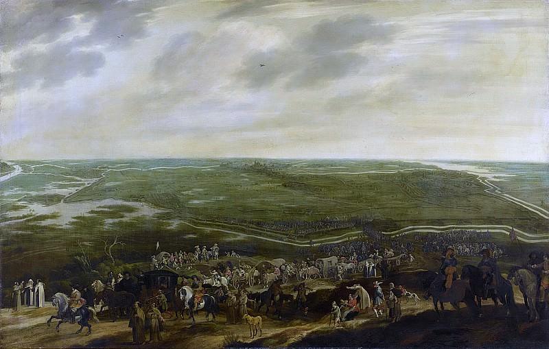 Hillegaert, Pauwels van -- De aftocht van het Spaanse garnizoen na de overgave van 's-Hertogenbosch, 17 september 1629, 1630 - 1635. Rijksmuseum: part 1