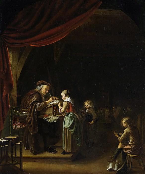 Staveren, Jan Adriaensz. van -- De schoolmeester, 1650-1750. Rijksmuseum: part 1
