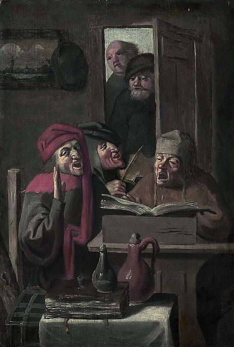 Brouwer, Adriaen -- Musicerend gezelschap., 1620 - 1750. Rijksmuseum: part 1