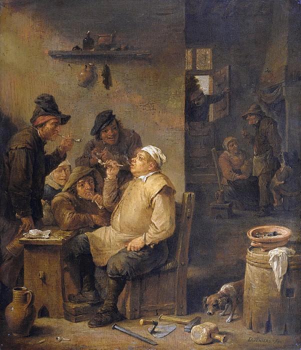 Teniers, David (II) -- De rokende metselaar, 1630-1660. Rijksmuseum: part 1