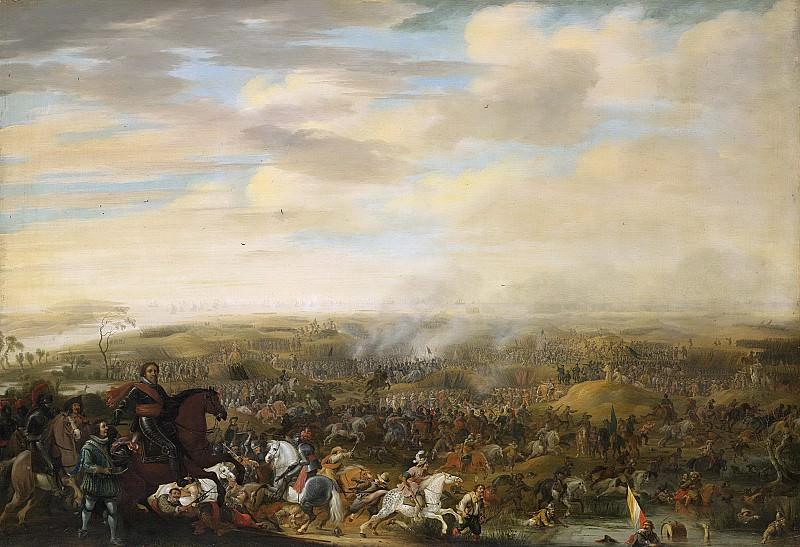 Паувельс ван Хиллегарт -- Принц Мориц Оранский в сражении у Ниеувпорта 2 июля 1600 года, 1632 - 1640. Рейксмузеум: часть 1