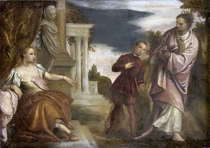 Veronese, Paolo -- De keuze tussen deugd en hartstocht, 1590 - 1680. Rijksmuseum: part 1