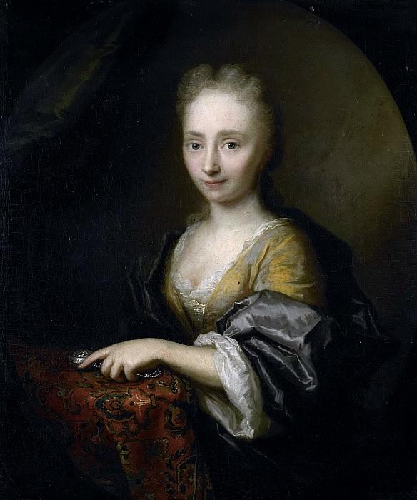 Boonen, Arnold -- Portret van een vrouw., 1690 - 1729. Rijksmuseum: part 1