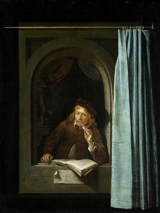 Dou, Gerard -- Zelfportret, 1640-1650. Rijksmuseum: part 1