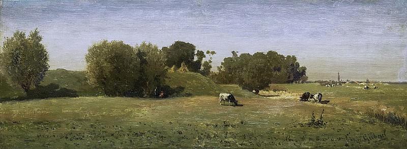 Gabriël, Paul Joseph Constantin -- Landschap bij Abcoude, 1860 - 1870. Rijksmuseum: part 1