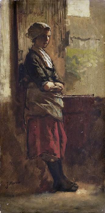 Якоб Марис -- Девушка у окна, 1870-99. Рейксмузеум: часть 1