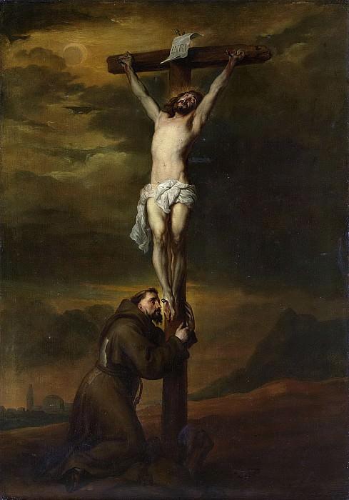 Dyck, Anthony van -- De heilige Franciscus aan de voet van het kruis, 1606 - 1691. Rijksmuseum: part 1