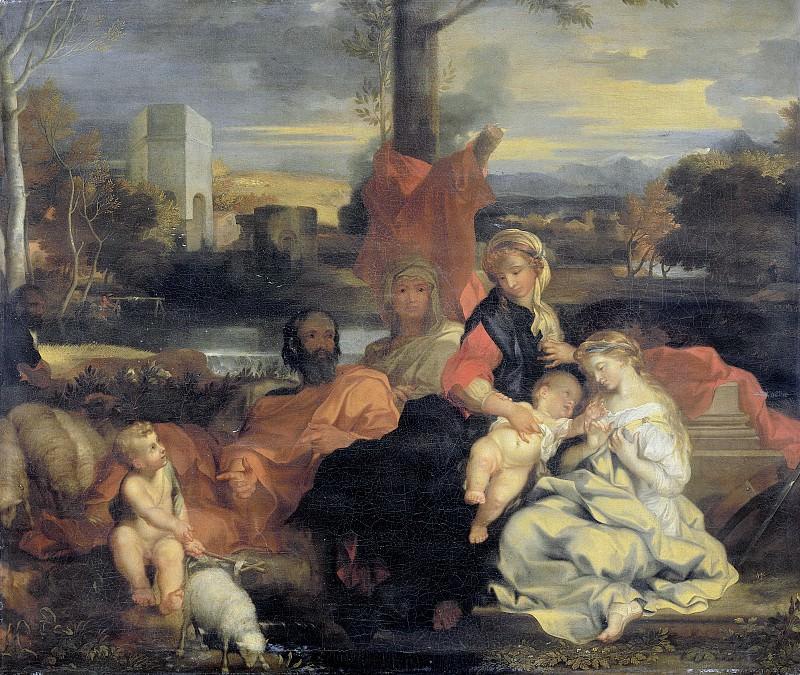 Bourdon, Sébastien -- Het mystieke huwelijk van de heilige Catharina, 1650-1720. Rijksmuseum: part 1