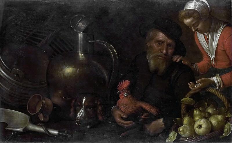 Delff, Cornelis Jacobsz. -- De hoenderkoopman, 1620 - 1643. Rijksmuseum: part 1