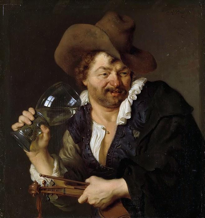 Vois, Ary de -- De vrolijke speelman, 1660-1680. Rijksmuseum: part 1