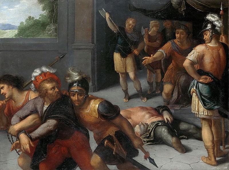 Veen, Otto van -- De onthoofding van Julius Paulus en de gevangenneming van Claudius Civilis, 1600-1613. Rijksmuseum: part 1