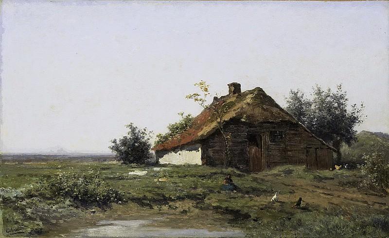 Gabriël, Paul Joseph Constantin -- Boerderij in open veld, 1860 - 1903. Rijksmuseum: part 1
