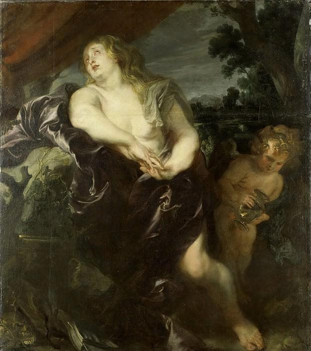 Dyck, Anthony van -- De boetvaardige Maria Magdalena, 1620-1635. Rijksmuseum: part 1