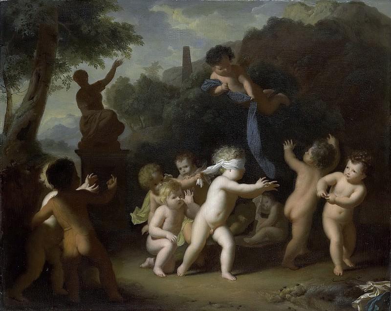 Limborch, Hendrik van -- Spelende putti, 1700-1720. Rijksmuseum: part 1