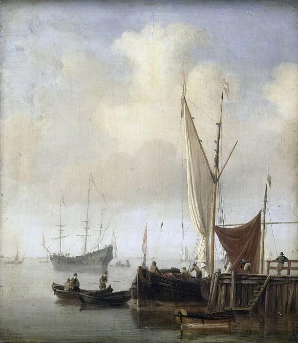 Velde, Willem van de (II) -- Havengezicht, 1650-1707. Rijksmuseum: part 1