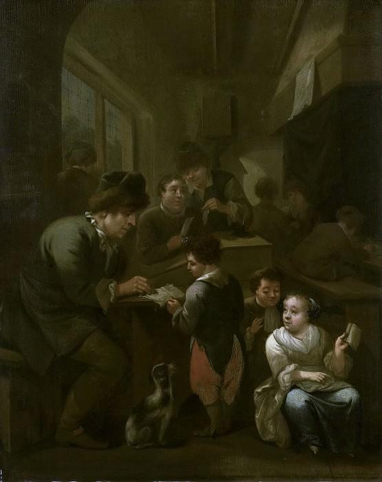 Schijndel, Bernardus van -- De schoolmeester, 1670 - 1709. Rijksmuseum: part 1
