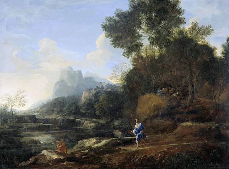 Dughet, Gaspard -- Italiaans landschap, 1638-1640. Rijksmuseum: part 1