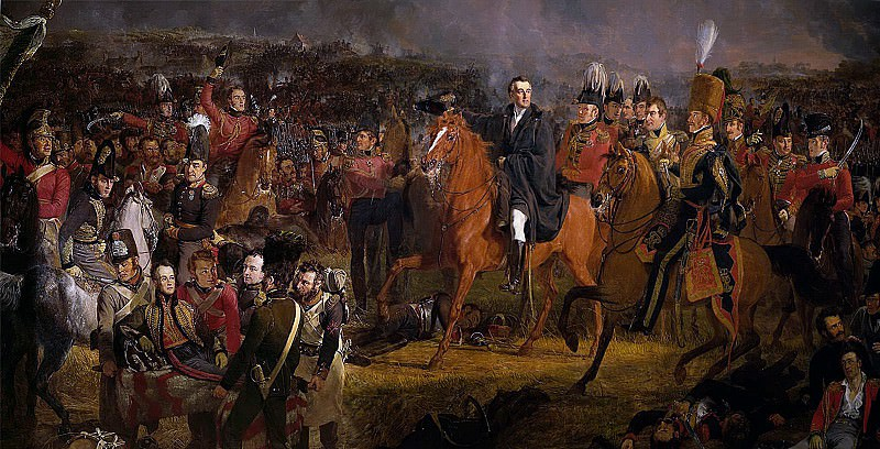 Pieneman, Jan Willem -- De slag bij Waterloo, 1824. Rijksmuseum: part 1