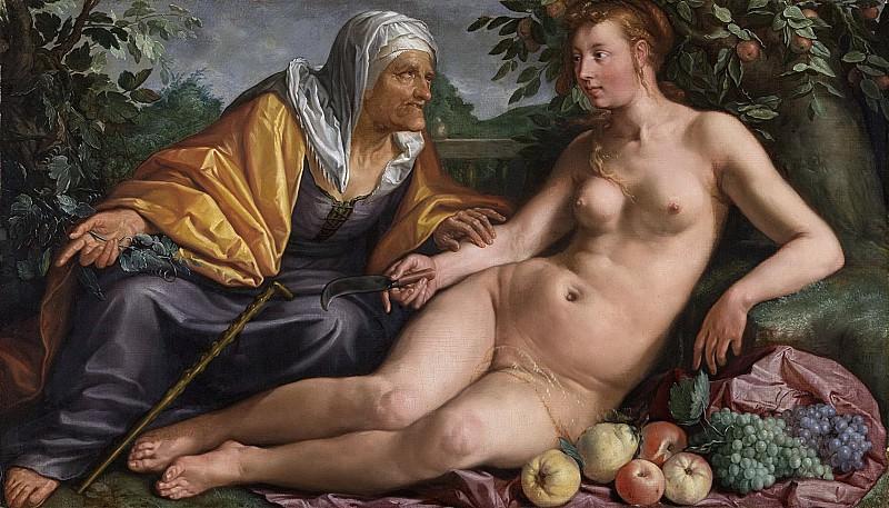 Гольциус, Хендрик - Вертумн и Помона, 1613. Рейксмузеум: часть 1