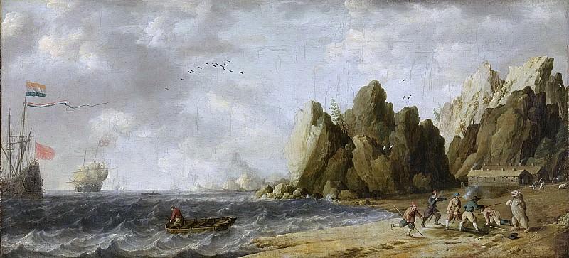 Peeters, Bonaventura (I) -- IJsberenjacht op de kust van Noorwegen, 1635 - 1652. Rijksmuseum: part 1