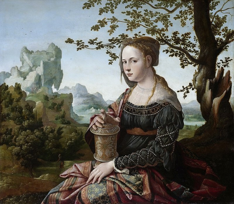 Scorel, Jan van -- Maria Magdalena, 1530. Rijksmuseum: part 1