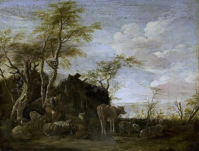 Potter, Paulus -- Herdershut, 1645. Rijksmuseum: part 1