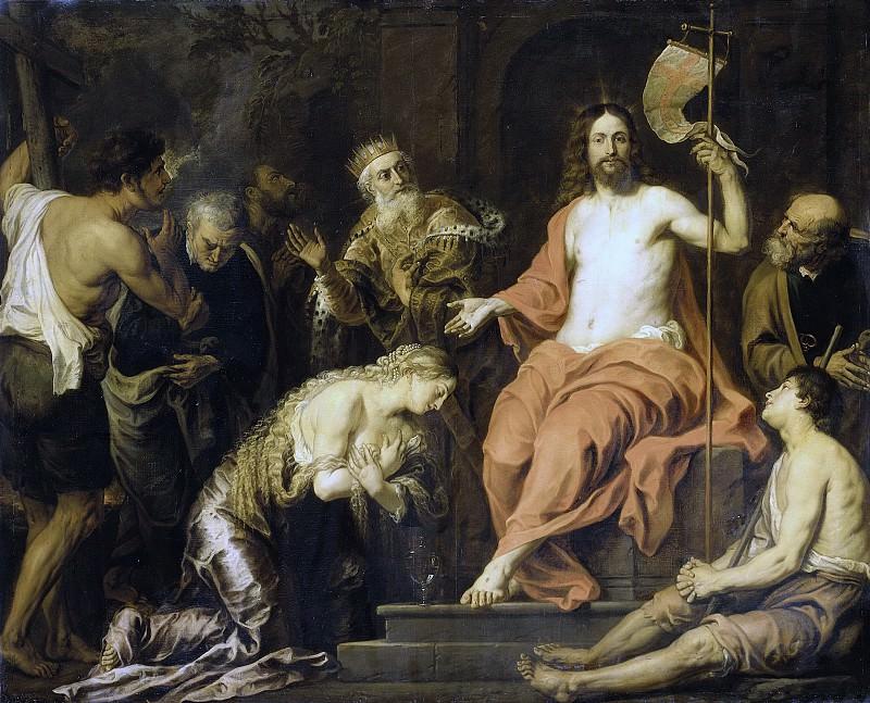 Seghers, Gerard -- Christus en de boetvaardige zondaars, 1610-1651. Rijksmuseum: part 1