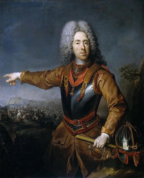 Schuppen, Jacob van -- Eugenius (1663-1736), prins van Savoye, 1718. Rijksmuseum: part 1