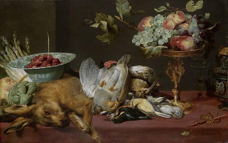 Snijders, Frans -- Stilleven met klein dood wild en vruchten, 1600-1657. Rijksmuseum: part 1