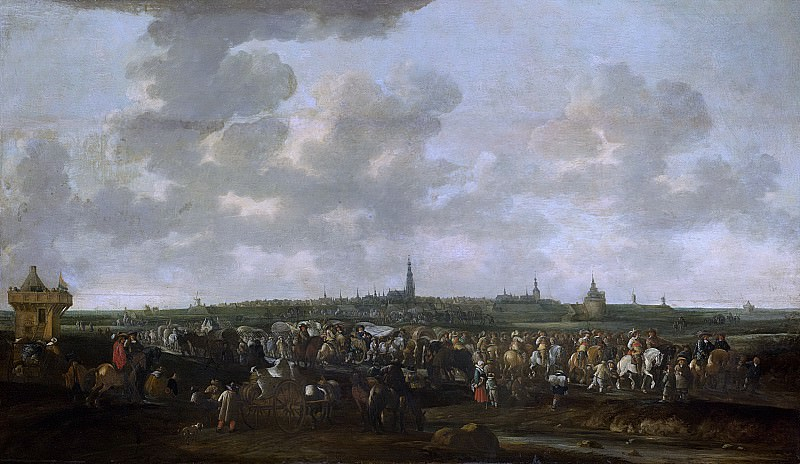 Meijer, Hendrick de -- De uittocht van de Spaanse bezetting van Breda, 10 oktober 1637, 1647 - 1683. Rijksmuseum: part 1