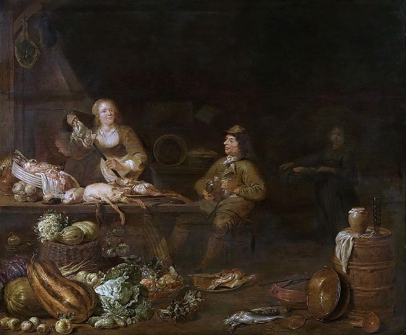 Olis, Jan -- Keukeninterieur, 1645. Rijksmuseum: part 1
