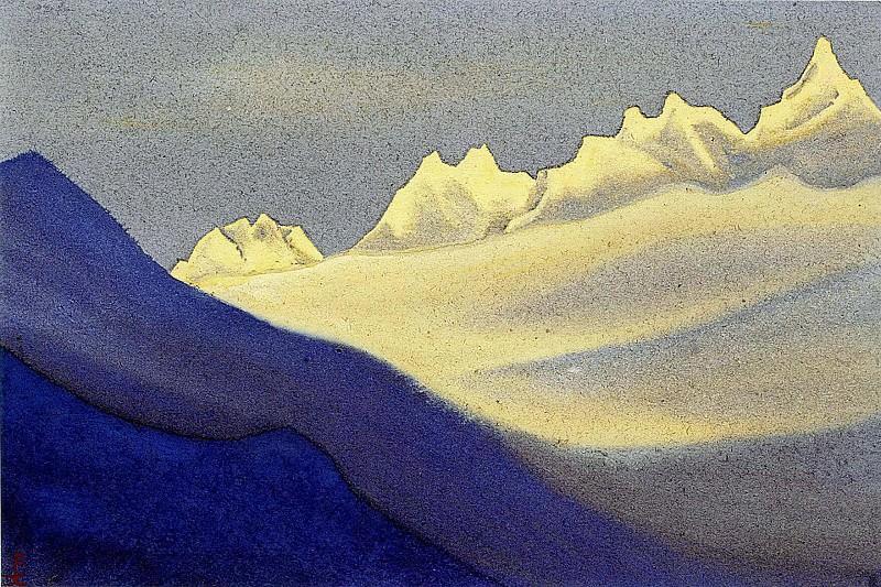 Himalayas # 80. Roerich N.K. (Part 5)