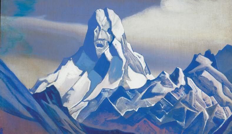 Sentinel # 102 Sentinel (Ice sphinx). Roerich N.K. (Part 5)