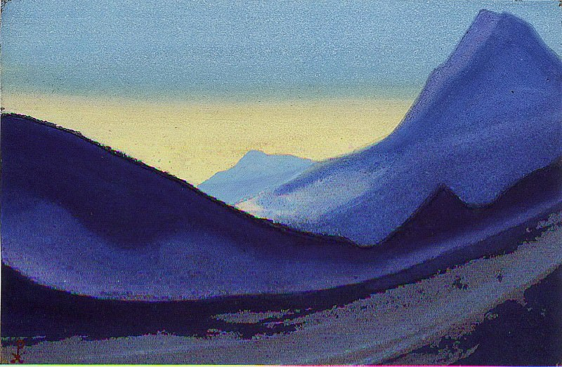 The Himalayas # 112. Roerich N.K. (Part 5)