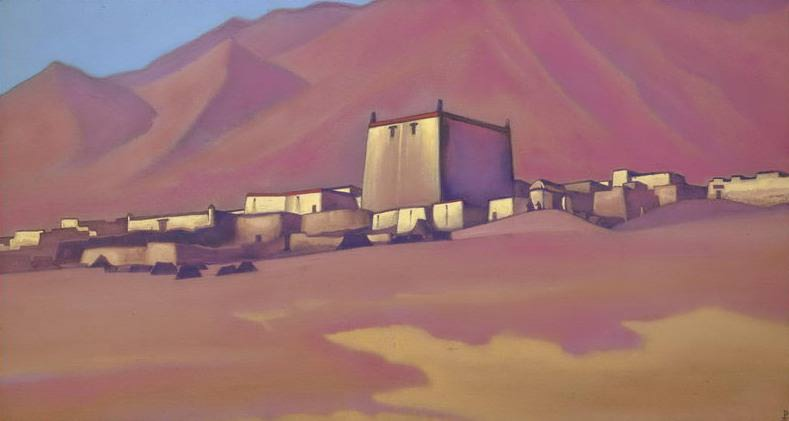Chatu Gompa # 22 (Chatu-Gompa. Tibet). Roerich N.K. (Part 5)