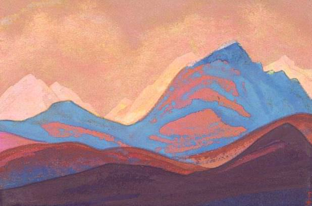 The Himalayas # 12 Mountain Signs. Roerich N.K. (Part 5)
