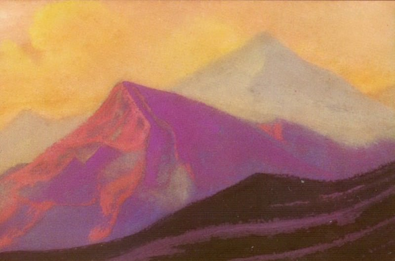 Himalayas # 46. Roerich N.K. (Part 5)