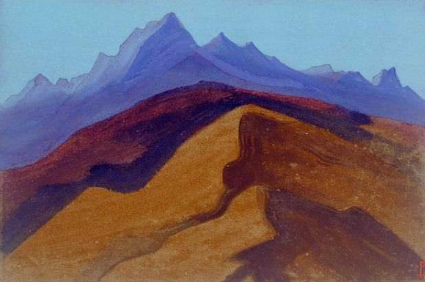 Гималаи #32 Дальние вершины. Рерих Н.К. (Часть 5)