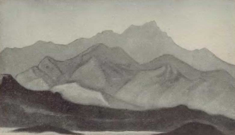 Himalayas. Morning. Roerich N.K. (Part 5)