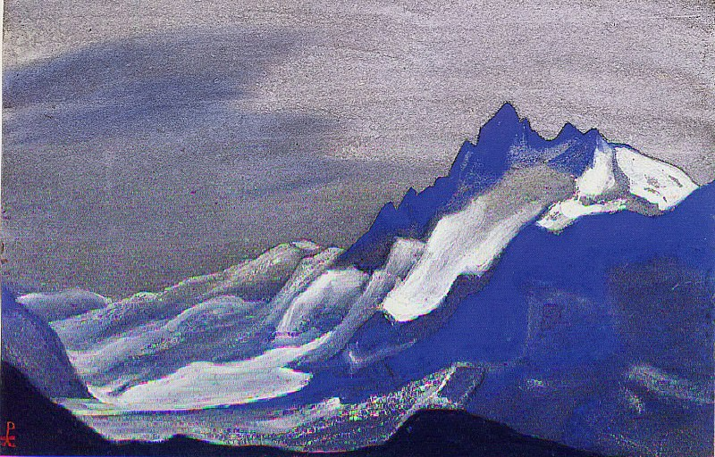 Himalayas # 56. Roerich N.K. (Part 5)