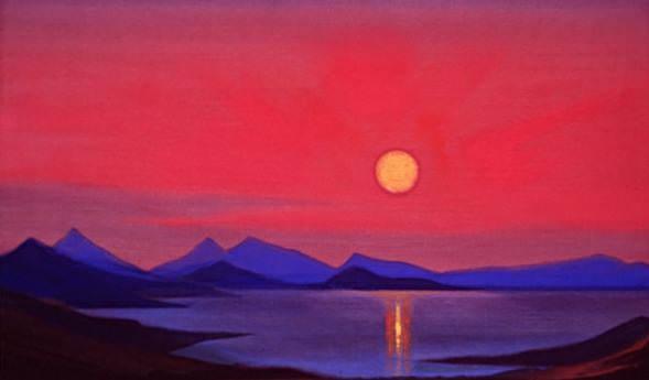 # 141 morning morning (Violet silence). Roerich N.K. (Part 5)